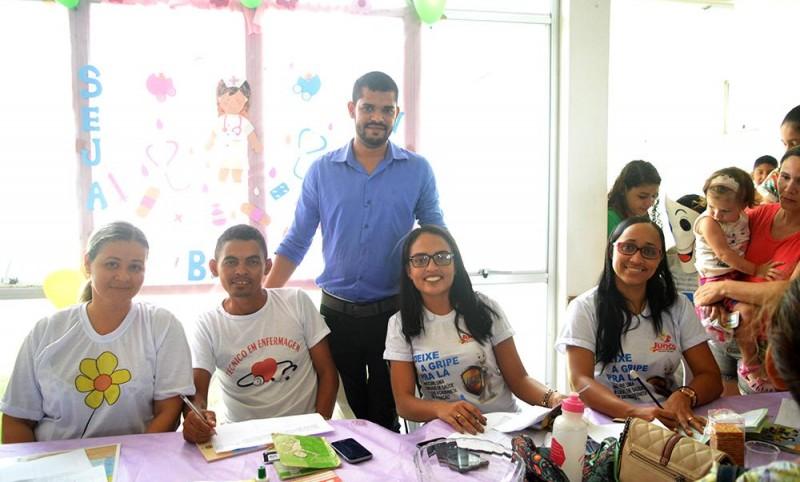 Campanha de Multivacinação alcança todo o município de Junco do Maranhão