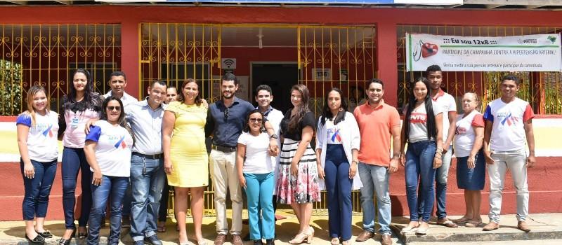 Unidade Básica de Saúde do Povoado Vera Cruz é reformada e entregue aos moradores da localidade