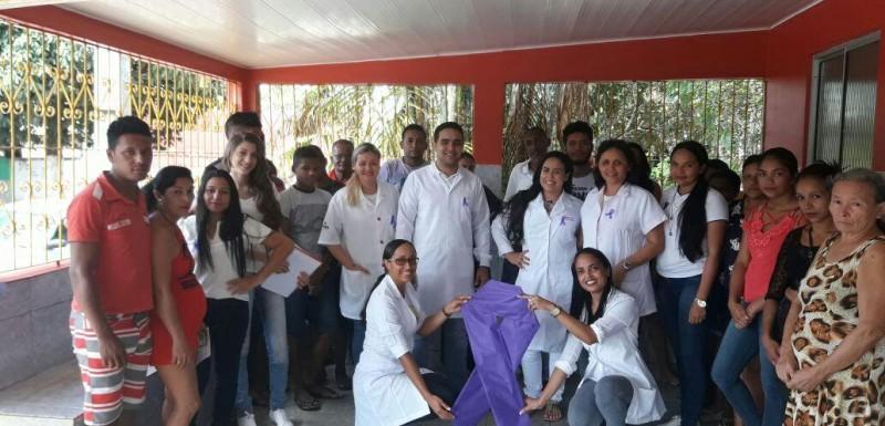 Ações do 'Janeiro Roxo' chegam ao Povoado Vera Cruz