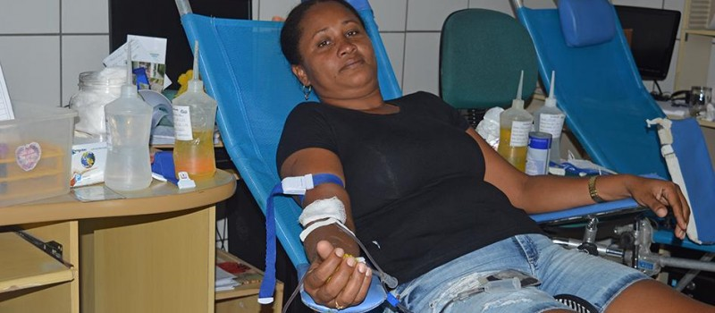Junco do Maranhão na coleta de sangue: missão de amor ao próximo