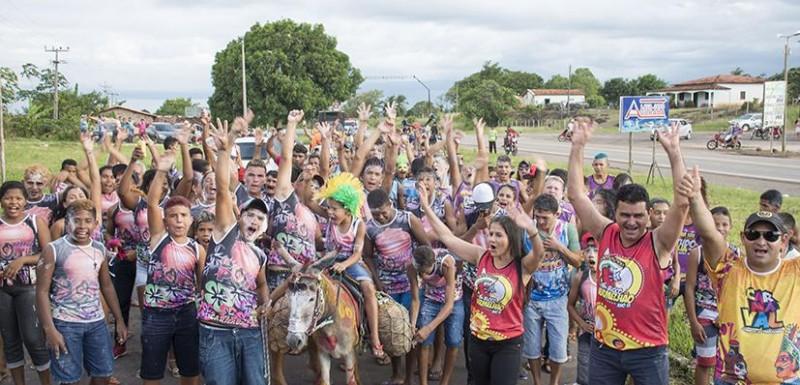 O carnaval de Junco do Maranhão chegou ao fim reunindo muitos foliões