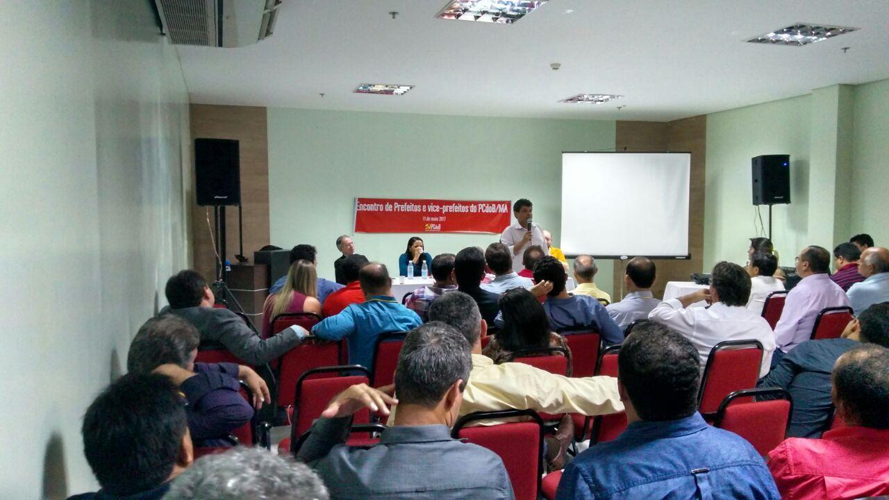 Antonio Filho participa de Encontro dos Prefeitos e Vice-prefeitos do PCdoB