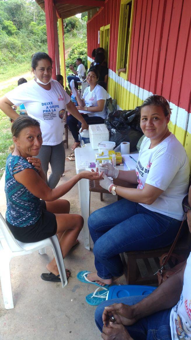 Responsabilidade: ações da Saúde chegam ao interior de Junco do Maranhão