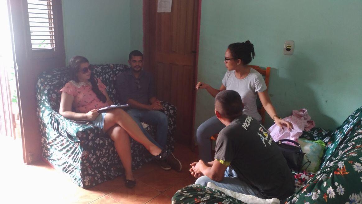 Visitas domiciliares são intensificadas por todo o município