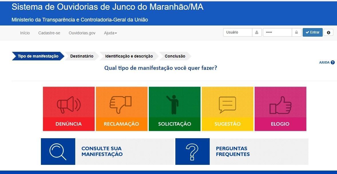 Prefeitura de Junco do Maranhão disponibiliza ouvidoria online para os cidadãos